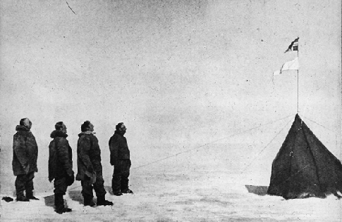 Amundsen party, South Pole (14 December 1911)