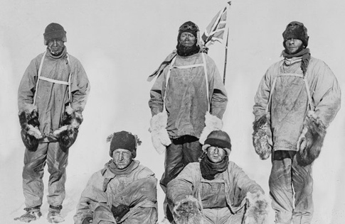 Scott party, South Pole (17 January 1912)