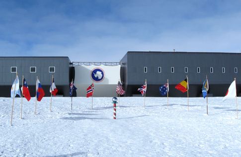 Flags of original signatories of the Antarctic Treaty
